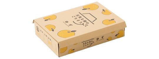 ゆず梱包ボックス